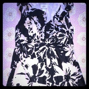 Ann Taylor Loft ruffle dress